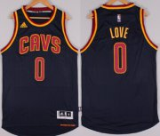 Wholesale Cheap Cleveland Cavaliers #0 Kevin Love Revolution 30 Swingman 2014 New Navy Blue Jersey