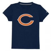 Wholesale Cheap Chicago Bears Sideline Legend Authentic Logo Youth T-Shirt Dark Blue