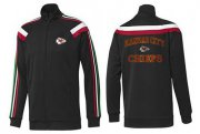 Wholesale NFL Kansas City Chiefs Heart Jacket Black_1