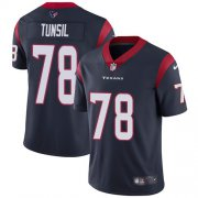 Wholesale Cheap Nike Texans #78 Laremy Tunsil Navy Blue Team Color Youth Stitched NFL Vapor Untouchable Limited Jersey