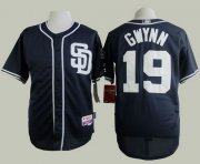Wholesale Cheap Padres #19 Tony Gwynn Navy Blue Cool Base Stitched MLB Jersey