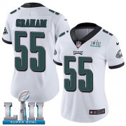 Wholesale Cheap Nike Eagles #55 Brandon Graham White Super Bowl LII Women's Stitched NFL Vapor Untouchable Limited Jersey