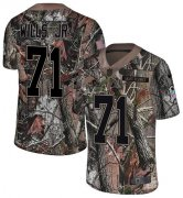 Wholesale Cheap Nike Browns #71 Jedrick Wills JR Camo Men's Stitched NFL Limited Rush Realtree Jersey