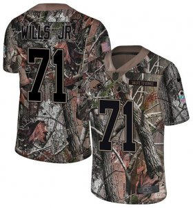 Wholesale Cheap Nike Browns #71 Jedrick Wills JR Camo Men\'s Stitched NFL Limited Rush Realtree Jersey