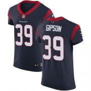 Wholesale Cheap Nike Texans #39 Tashaun Gipson Navy Blue Team Color Men's Stitched NFL Vapor Untouchable Elite Jersey