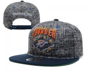 Wholesale Cheap NBA Oklahoma City Thunder Snapback Ajustable Cap Hat XDF 038