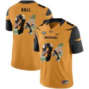 Wholesale Cheap Missouri Tigers 84 Emanuel Hall Gold Nike Fashion College Football Jersey