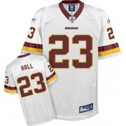 Wholesale Cheap Redskins #23 DeAngelo Hall White Stitched NFL Jersey
