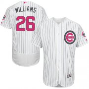 Wholesale Cheap Cubs #26 Billy Williams White(Blue Strip) Flexbase Authentic Collection Mother's Day Stitched MLB Jersey