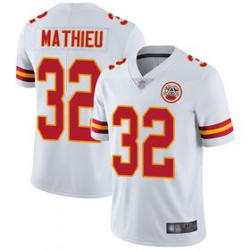 Wholesale Cheap Nike Chiefs #32 Tyrann Mathieu White Youth Stitched NFL Vapor Untouchable Limited Jersey