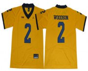 Wholesale Cheap Men's Michigan Wolverines #2 Charles Woodson Yellow 2017 College Football Stitched Brand Jordan NCAA Jersey