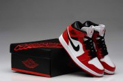 Wholesale Cheap Air Jordan 1 For Women Shoes White/Black/Red