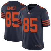 Wholesale Cheap Nike Bears #85 Cole Kmet Navy Blue Alternate Men's Stitched NFL Vapor Untouchable Limited Jersey