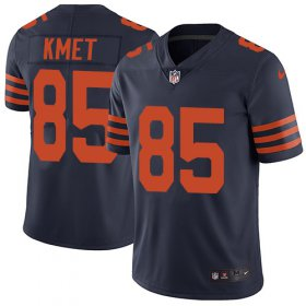Wholesale Cheap Nike Bears #85 Cole Kmet Navy Blue Alternate Men\'s Stitched NFL Vapor Untouchable Limited Jersey