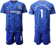 Wholesale Cheap Chelsea #1 Arrizabalaga Home Soccer Club Jersey