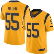 Wholesale Cheap Nike Rams #55 Brian Allen Gold Men's Stitched NFL Limited Rush Jersey