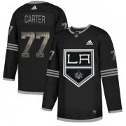 Wholesale Cheap Adidas Kings #77 Jeff Carter Black Authentic Classic Stitched NHL Jersey