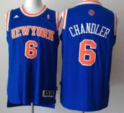 Wholesale Cheap New York Knicks #6 Tyson Chandler Revolution 30 Swingman 2013 Blue Jersey