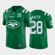 Wholesale Cheap New York Jets #28 Curtis Martin Green Men's Nike Big Team Logo Player Vapor Limited NFL Jersey