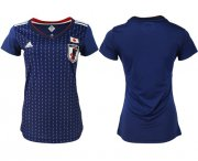 Wholesale Cheap Women's Japan Blank Home Soccer Country Jersey