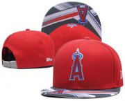 Wholesale Cheap Los Angeles Angels of Anaheim Snapback Ajustable Cap Hat 4