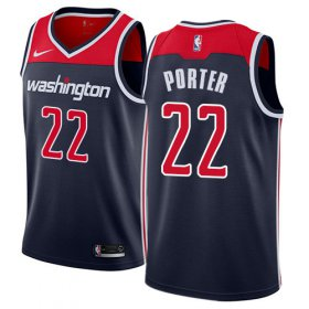 Wholesale Cheap Nike Wizards #22 Otto Porter Navy Blue NBA Swingman Statement Edition Jersey