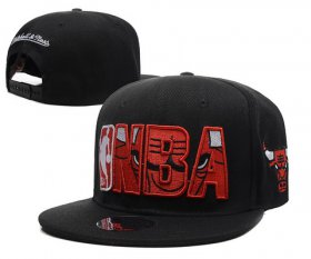 Wholesale Cheap NBA Chicago Bulls Snapback Ajustable Cap Hat DF 03-13_03