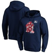 Wholesale Cheap Boston Red Sox Majestic 2019 London Series Splatter Pullover Hoodie Navy