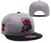 Wholesale Cheap NBA Chicago Bulls Snapback Ajustable Cap Hat YD 03-13_31