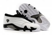 Wholesale Cheap Women's Air Jordan 14 Shoes White/black