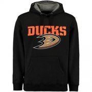 Wholesale Cheap Anaheim Ducks Rinkside Grayton Pullover Hoodie Black