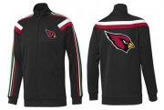 Wholesale Cheap NFL Arizona Cardinals Team Logo Jacket Black_2