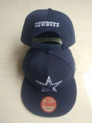 Wholesale Cheap Cowboys Team Logo Navy Adjustable Hat LT