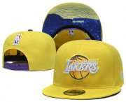 Wholesale Cheap Los Angeles Lakers Snapback Ajustable Cap Hat YD 10