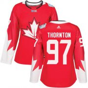 Wholesale Cheap Team Canada #97 Joe Thornton Red 2016 World Cup Women's Stitched NHL Jersey