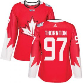 Wholesale Cheap Team Canada #97 Joe Thornton Red 2016 World Cup Women\'s Stitched NHL Jersey
