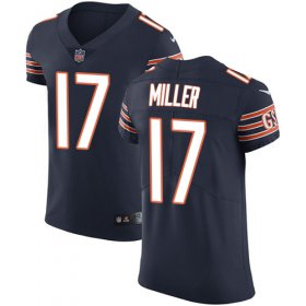 Wholesale Cheap Nike Bears #17 Anthony Miller Navy Blue Team Color Men\'s Stitched NFL Vapor Untouchable Elite Jersey