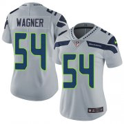 Wholesale Cheap Nike Seahawks #54 Bobby Wagner Grey Alternate Women's Stitched NFL Vapor Untouchable Limited Jersey