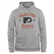 Wholesale Cheap Philadelphia Flyers Heritage Pullover Hoodie Ash