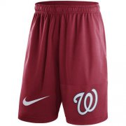 Wholesale Cheap Men's Washington Nationals Nike Red Dry Fly Shorts