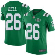 Wholesale Cheap Nike Jets #26 Le'Veon Bell Green Youth Stitched NFL Limited Rush Jersey