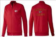 Wholesale NFL Kansas City Chiefs Heart Jacket Red