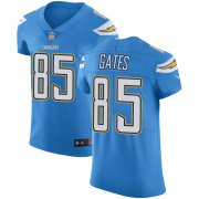 Wholesale Cheap Nike Chargers #85 Antonio Gates Electric Blue Alternate Men's Stitched NFL Vapor Untouchable Elite Jersey