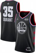 Wholesale Cheap Jordan Men's 2019 NBA All-Star Game #35 Kevin Durant Black Dri-FIT Swingman Jersey