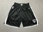 Wholesale Cheap Nets Black Nike Swingman Shorts