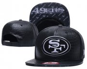 Wholesale Cheap NFL San Francisco 49ers Stitched Snapback Hats 139