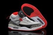 Wholesale Cheap Air Jordan 3.5 Spizike Retro Shoes Wolf grey/red-black