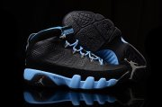 Wholesale Cheap Womens Air Jordan 9 slim jenkins Black/blue