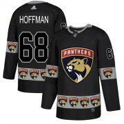 Wholesale Cheap Adidas Panthers #68 Mike Hoffman Black Authentic Team Logo Fashion Stitched NHL Jersey
