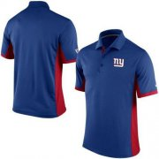 Wholesale Cheap Men's Nike NFL New York Giants Royal Team Issue Performance Polo